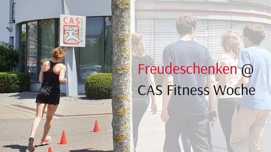 Freudeschenken CAS Fitness Woche chrity marathon 2019