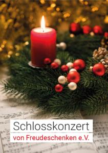schlosskonzert weihnachten 2019 freudeschenken Klavierquartett programm