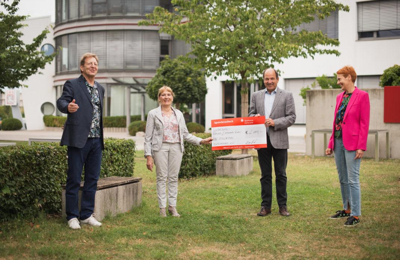 freudeschenken spende räuberburg krebskranke kinder karlsruhe 2020